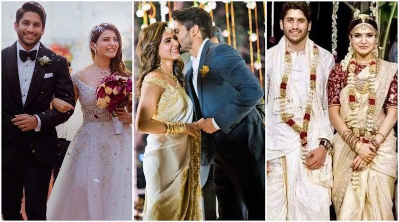 Samantha Akkineni Shares A Lovely Note For Hubby Naga Chaitanya On Their Third Wedding Anniversary; Celebs Extend Heartfelt Wishes To The Couple