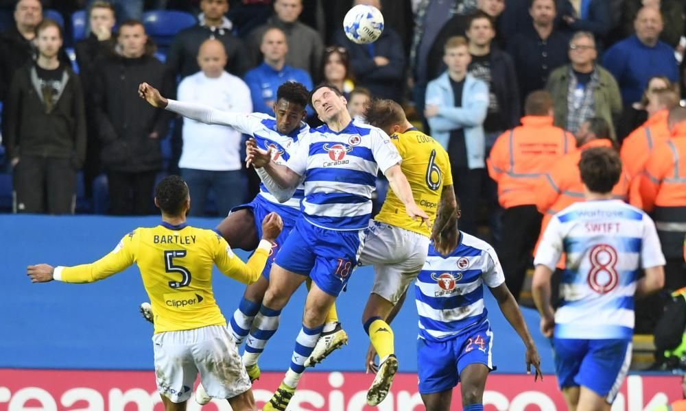 Reading leapfrog Leeds United thanks to Yann Kermorgant's first-half strike