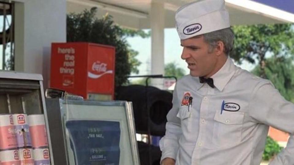 Steve Martin in The Jerk (Credit: Universal Pictures)