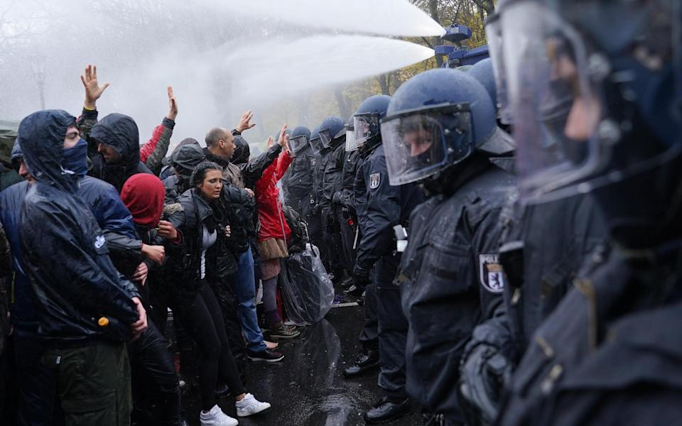 germany protests - Getty