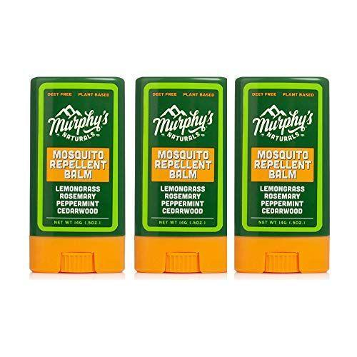 """<p><strong>Murphy's Naturals</strong></p><p>amazon.com</p><p><strong>$17.95</strong></p><p><a href=""""https://www.amazon.com/dp/B08TZ38QV4?tag=syn-yahoo-20&ascsubtag=%5Bartid%7C2164.g.37103733%5Bsrc%7Cyahoo-us"""" rel=""""nofollow noopener"""" target=""""_blank"""" data-ylk=""""slk:Shop Now"""" class=""""link rapid-noclick-resp"""">Shop Now</a></p><p>Rub this balm on your skin, and you'll be mosquito-free for hours with the help of lemongrass oil and rosemary oil. What's more, other ingredients like peppermint oil and cedarwood oil help create an intoxicating scent that sticks around.</p>"""