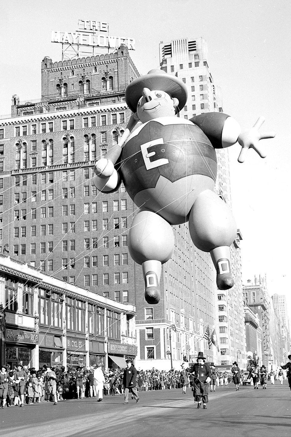<p>The Macy's Thanksgiving Day Parade was first broadcast on local television in 1946. The iconic event made it to national stations the following year.</p>