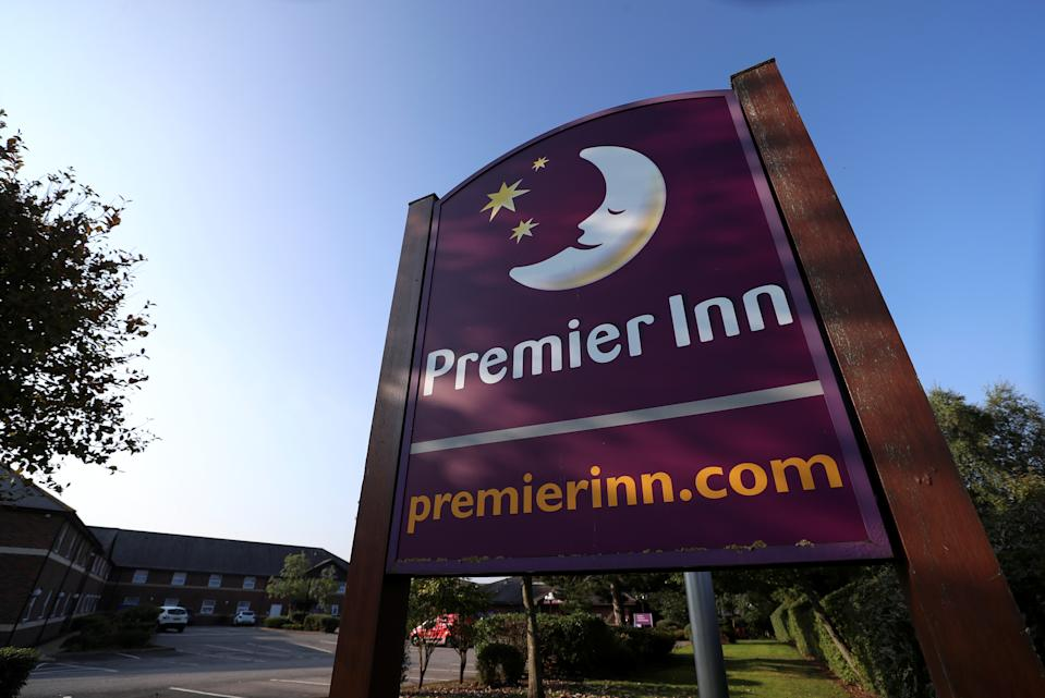 Premier Inn Hotel owner Whitbread said it is cutting 1,500 jobs rather than the expected 6,000 amid COVID-19 losses. Photo: Lee Smith/Reuters