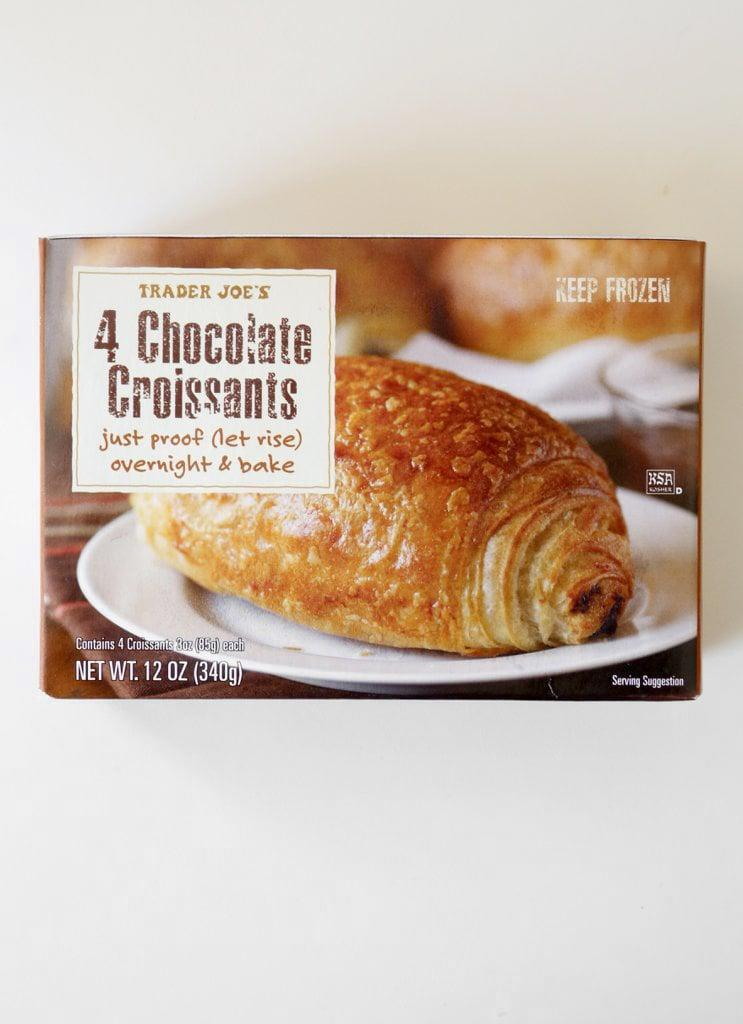 <p>Chocolate, flaky, and delightfully scrumptious, these tasty croissants come in a package of four - just enough for a weekend treat!</p>