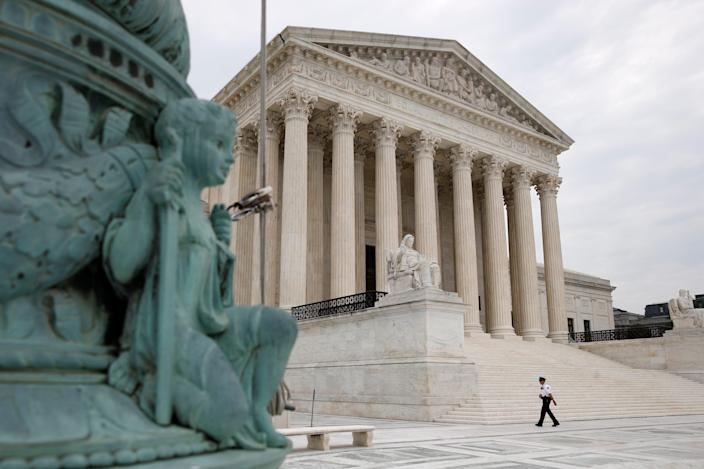 The Supreme Court on July 6, 2020, in Washington, D.C.