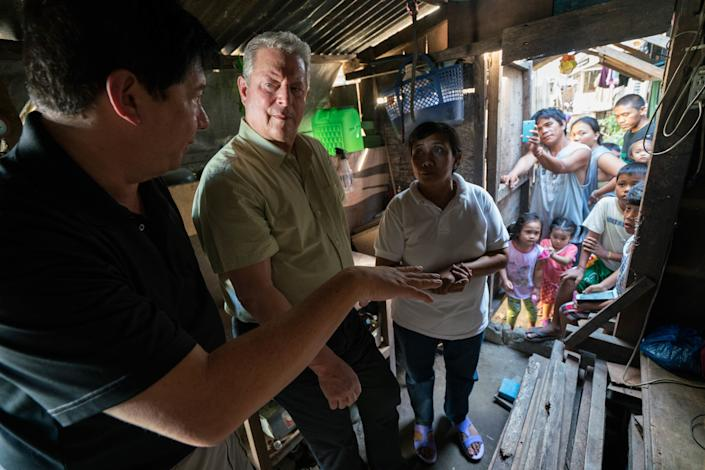 """Directed by Bonni Cohen and Jon Shenk<br><br>Starring Al Gore and footage of Donald Trump denying scientific evidence<br><br><strong>What to expect:&nbsp;</strong>Eleven years after """"An Inconvenient Truth"""" galvanized climate-change activism, Al Gore is back with&nbsp;an update on how far we've come. The documentary is <a href=""""http://www.huffingtonpost.com/entry/an-inconvenient-sequel-sundance-film-festival_us_588255d4e4b096b4a2317328"""" rel=""""nofollow noopener"""" target=""""_blank"""" data-ylk=""""slk:brimming with hope"""" class=""""link rapid-noclick-resp"""">brimming with hope</a>, particularly surrounding the Paris agreement signed in 2015 -- and then global-warming denier Donald Trump is elected president.<br><br><i><a href=""""https://www.youtube.com/watch?v=huX1bmfdkyA"""" rel=""""nofollow noopener"""" target=""""_blank"""" data-ylk=""""slk:Watch the trailer"""" class=""""link rapid-noclick-resp"""">Watch the trailer</a>.</i>"""