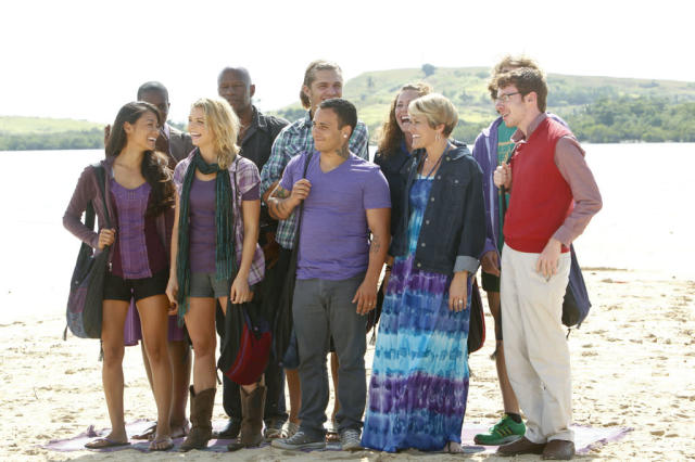"""Premiere"" - The Bikal Tribe (Favorites) during the premiere episode of ""Survivor: Caramoan - Fans vs. Favorites."" The Emmy Award-winning series returns for its 26th season with a special 90-minute premiere on CBS."