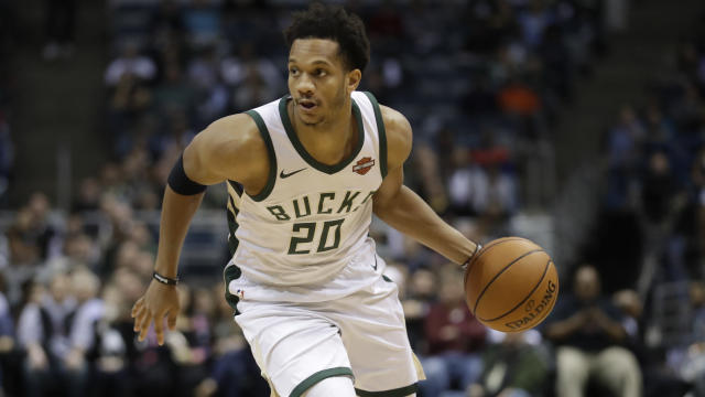 "<a class=""link rapid-noclick-resp"" href=""/nba/players/5477/"" data-ylk=""slk:Rashad Vaughn"">Rashad Vaughn</a> averaged 7.9 minutes for the Bucks this season. (AP)"