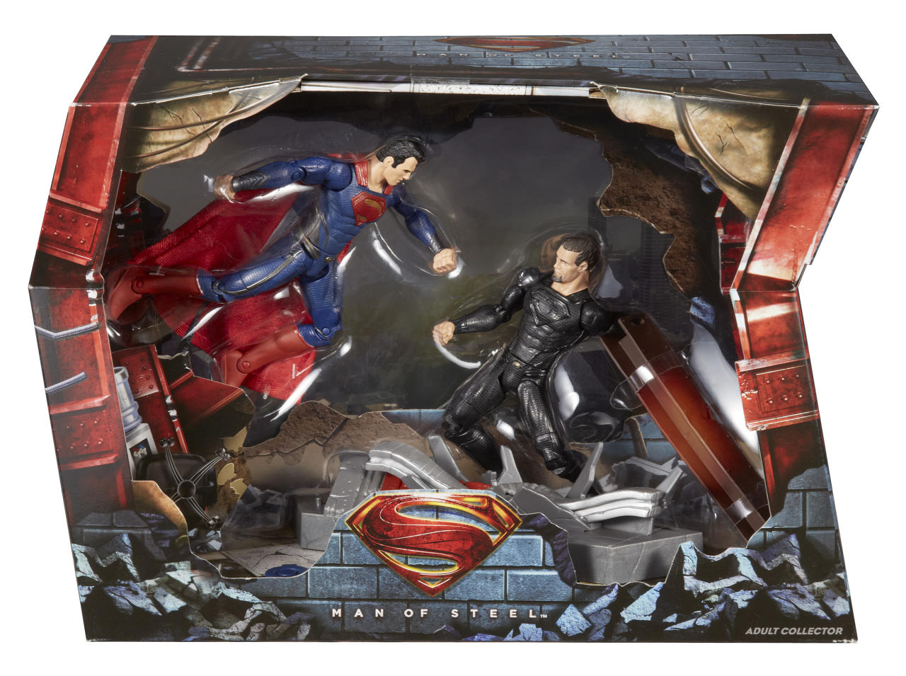<b>DC Man of Steel Movie Masters Superman vs General Zod Movie Pack</b><br />Mattel