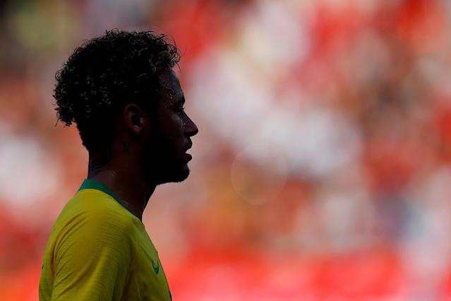 Soccer Football - International Friendly - Austria vs Brazil - Ernst-Happel-Stadion, Vienna, Austria - June 10, 2018 Brazil's Neymar REUTERS/Leonhard Foeger