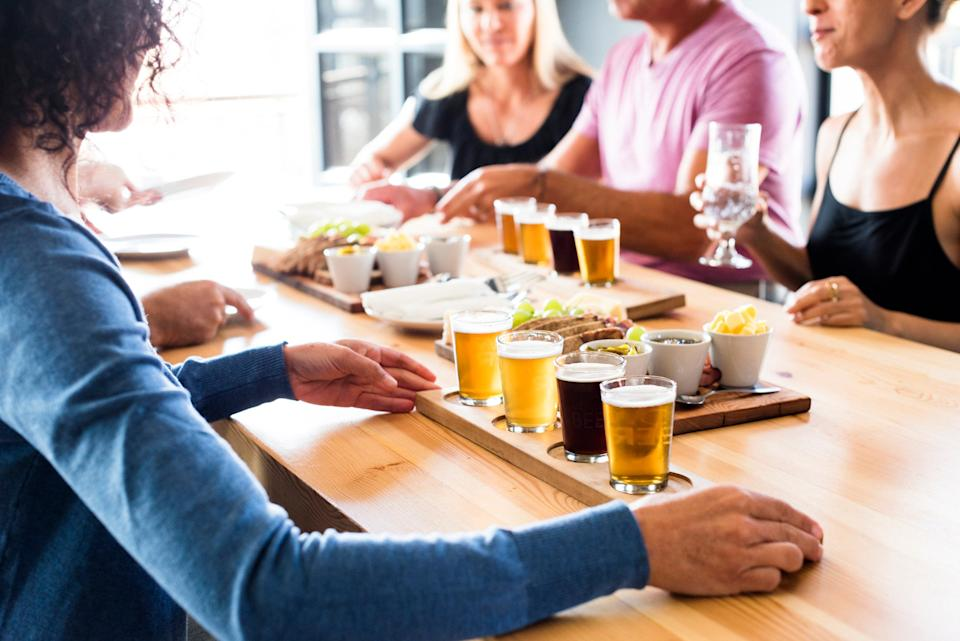 Explore some of the best craft brews Britain has to offer: istock