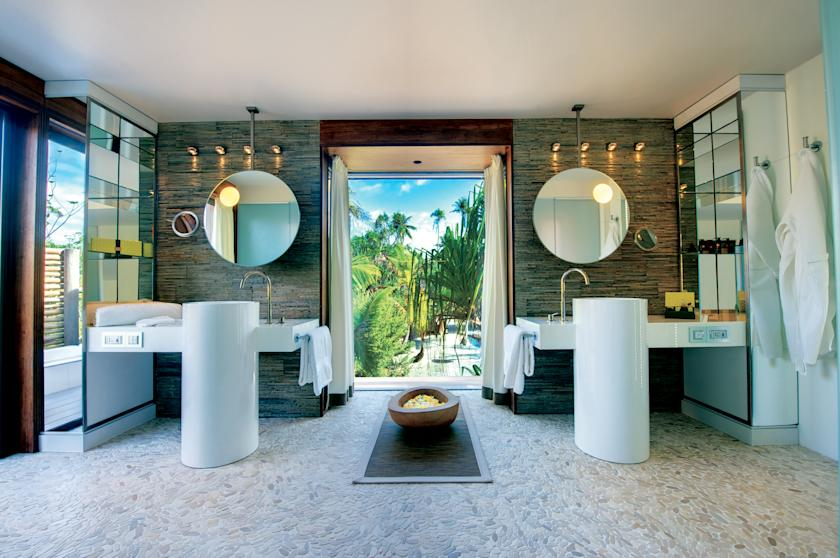 The resort is comprised of deluxe villas designed to reflect the Polynesian lifestyle with modern conveniences.