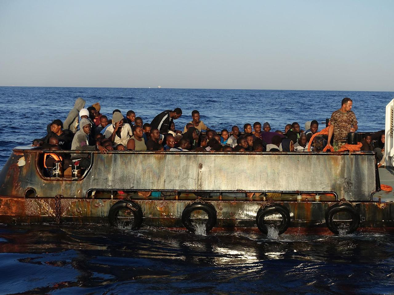 Harrowing footage exposes 'inhuman' treatment of refugees trapped in Libya