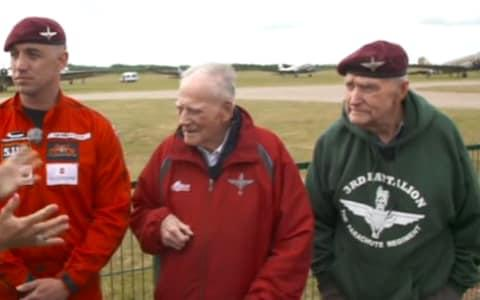 <span>Harry (centre) and Jock (right)</span> <span>Credit: ITV </span>