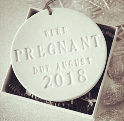 Silvana shared this image to announce the news. Photo: Instagram/ Silvana Philippoussis