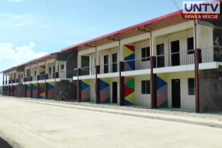 Housing units for the victims of Zamboanga seige