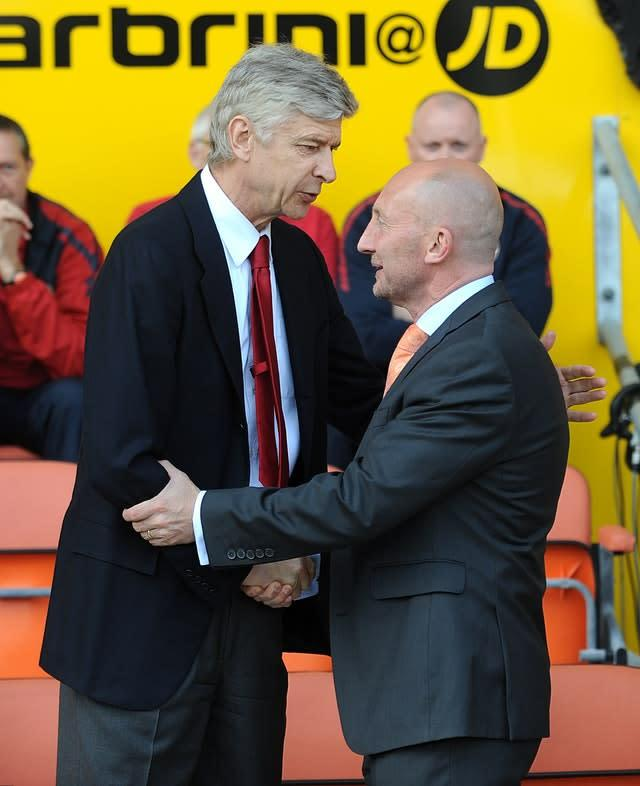 Ian Holloway managed against the best in the Premier League (Anna Gowthorpe/PA)
