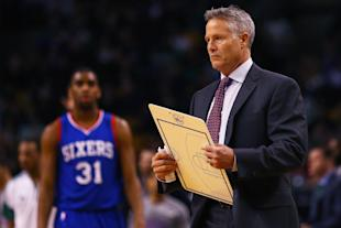Brett Brown is 38-147 with the 76ers. (Getty)
