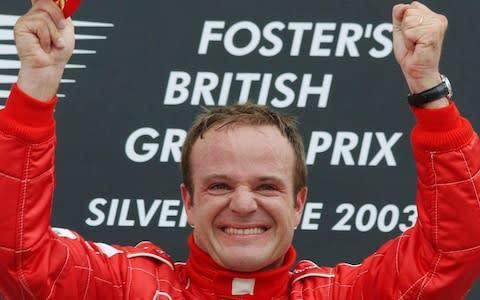 <span>Rubens Barrichello's most successful years came at Ferrari in the early part of the 2000s</span> <span>Credit: PA </span>