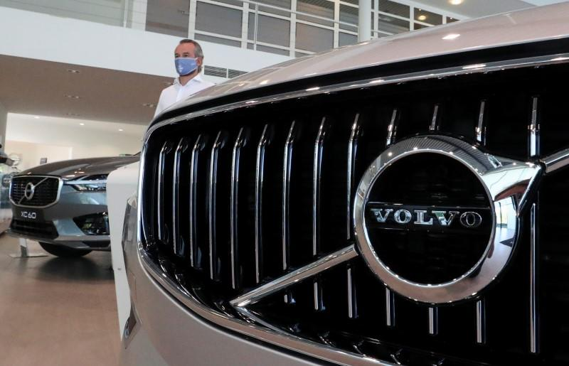 Geely's Volvo Cars sales soar 40% in May vs month-ago as virus curbs ease