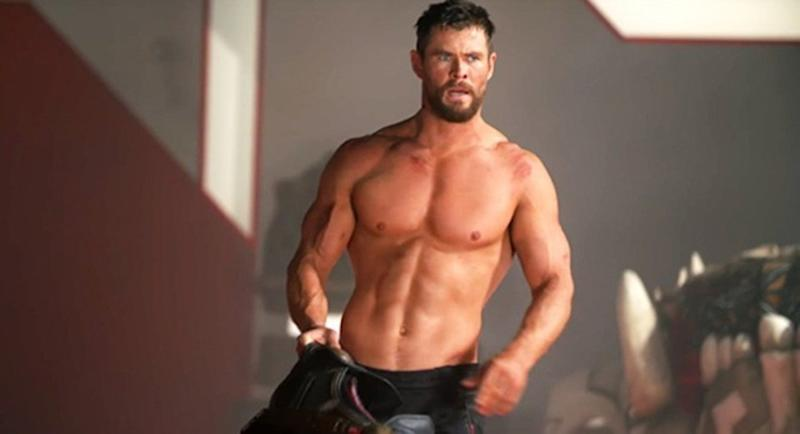 Hemsworth in Thor: Ragnarok (Credit: Marvel)