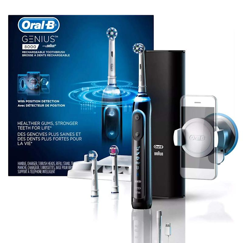 Oral-B Genius Pro 8000 Electronic Power Rechargeable Battery Electric Toothbrush. (Photo: Amazon)