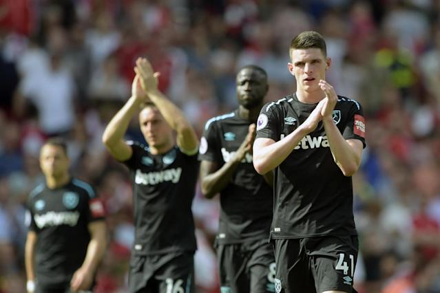 David Moyes warns Declan Rice to learn quickly after West Ham youngster's error hands Arsenal victory