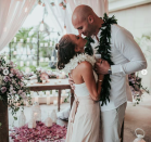 """<p><span>While it looked like singer and actress Jana Kramer and her husband, NFL player Mike Caussin, were headed for splitsville, the duo chose instead to regroup, repair, and rekindle. Revealing a picture from their vow renewal in December, Kramer shared with Instagram that 2017 was a rough year that broke her heart. """"I have NO clue what 2018 has in store for me but I've never been more ready to live day by day and enjoy each day as it comes at me. Here's to always believing in love and fighting for it,"""" she wrote, adding, """"2018, I'm ready for you!"""" </span><span>(Photo:<a rel=""""nofollow noopener"""" href=""""https://www.instagram.com/p/BdYF6QuHaoe/?hl=en&taken-by=kramergirl"""" target=""""_blank"""" data-ylk=""""slk:Jana Kramer via Instagram"""" class=""""link rapid-noclick-resp""""> Jana Kramer via Instagram</a>)</span> </p>"""