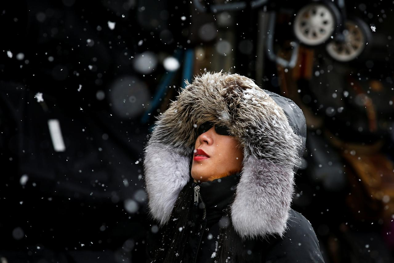 <p>Chinatown, New York City. REUTERS/Brendan McDermid </p>