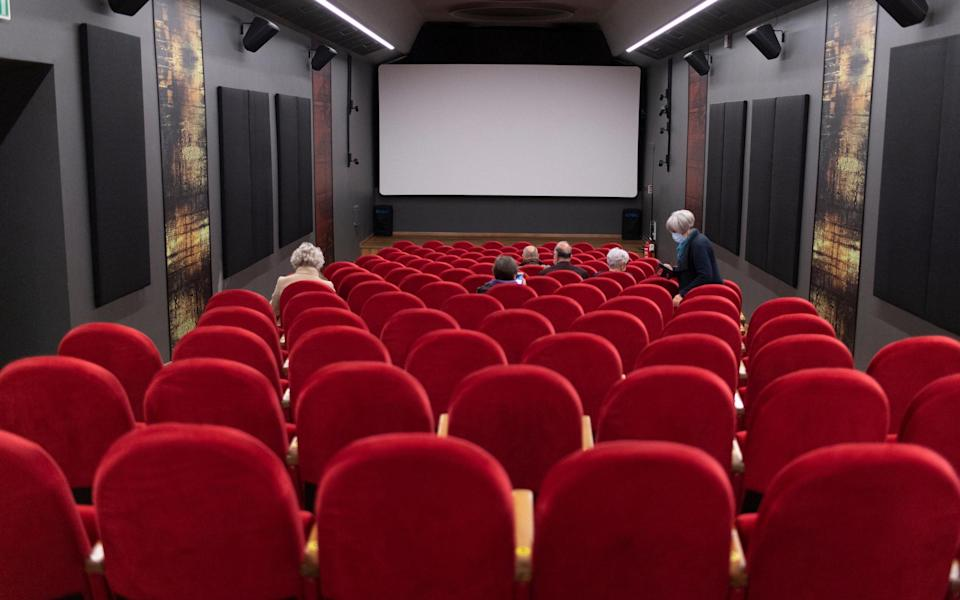Cinemas and concerts halls were also able to reopen - Getty