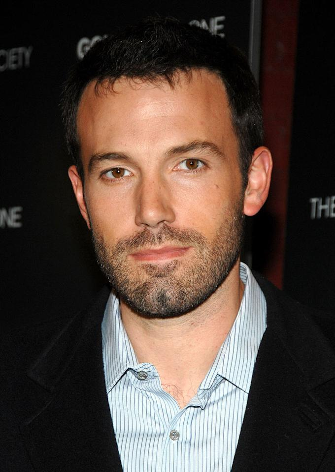 Ben Affleck arrives at the premiere of Gone, Baby, Gone at the IFC Center - 10/16/2007