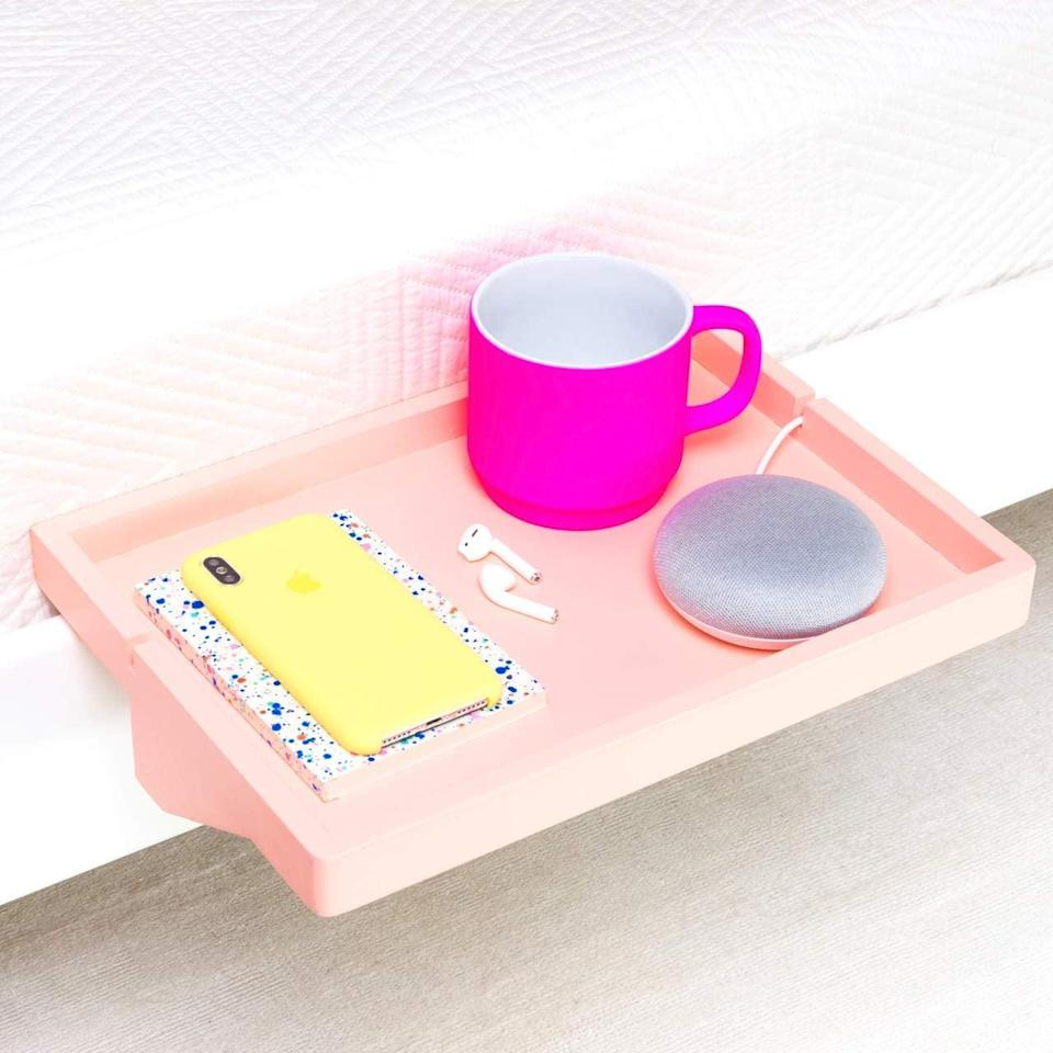 <p><span>The Original Bedside Shelf</span> ($30) will keep important nighttime essentials right where they need them.</p>