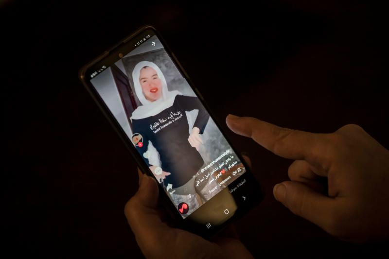 Otra de las mujeres Tik Tok sentenciada a prisión (Photo by KHALED DESOUKI/AFP via Getty Images)