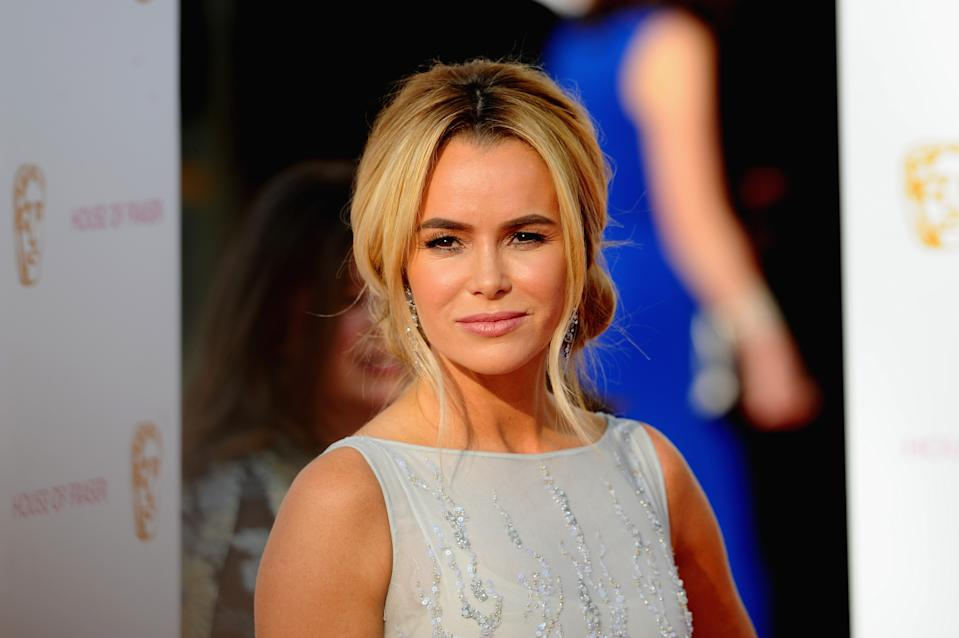 Amanda Holden let us into the secret of her youthful looks. (Getty Images)