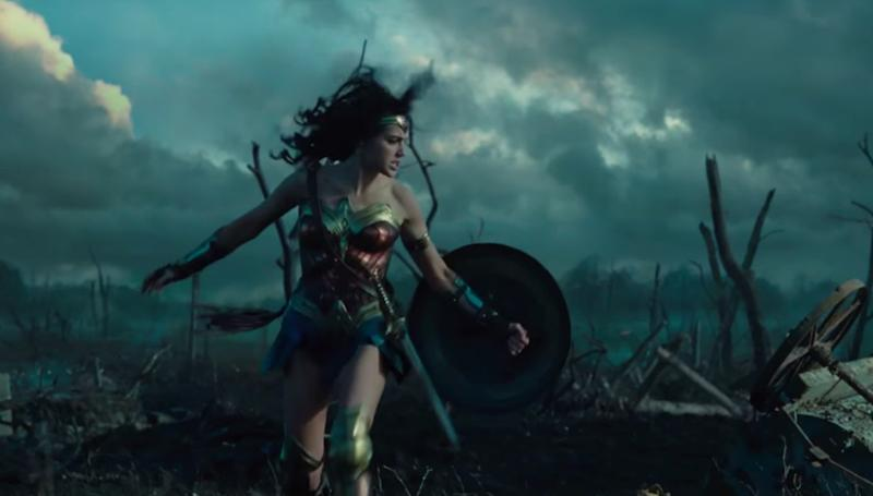Gal Gadot's Wonder Woman standing strong on the battlefield that is the box office (credit: Warner Bros)
