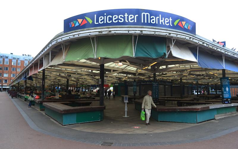 Leicester Market - Mike Egerton/PA