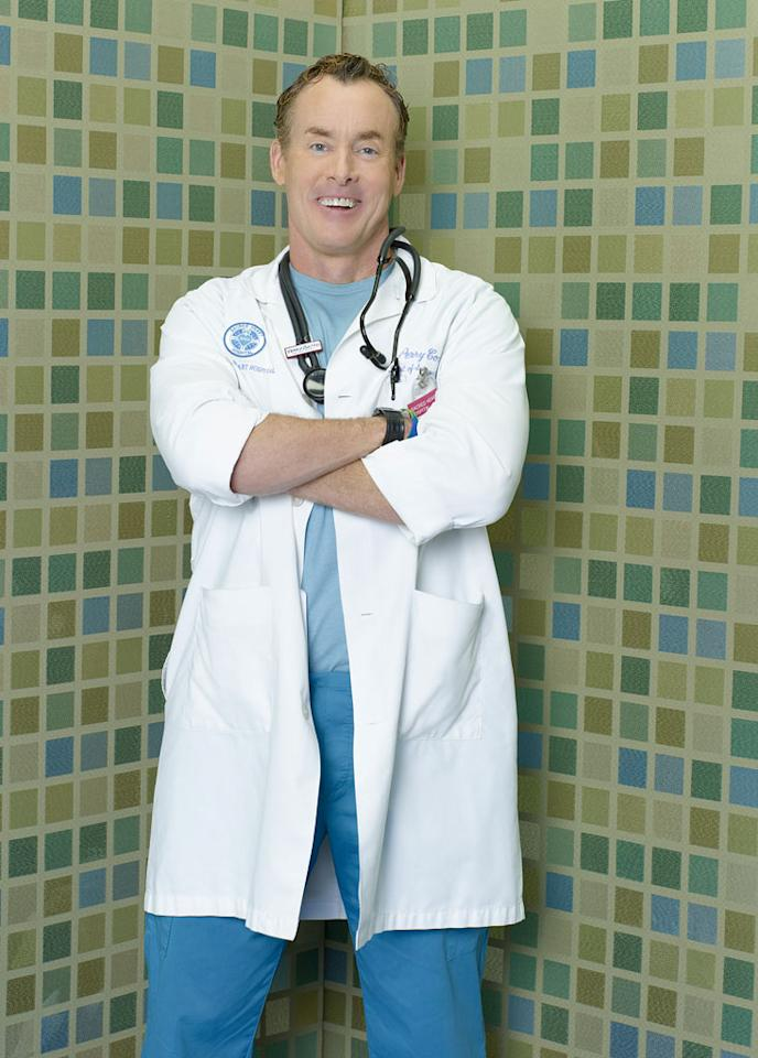 "<a href=""/baselineperson/3687729"">John C. McGinley</a> stars as Perry Cox in ""Scrubs."""
