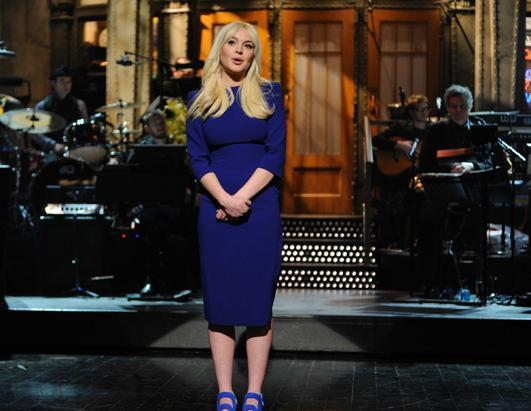 This was to be the year the actress recessitated her career. Lindsay Lohan got mixed reviews as host of Saturday Night Live, March 3, 2012,but scored points by making fun of her troubles through the years