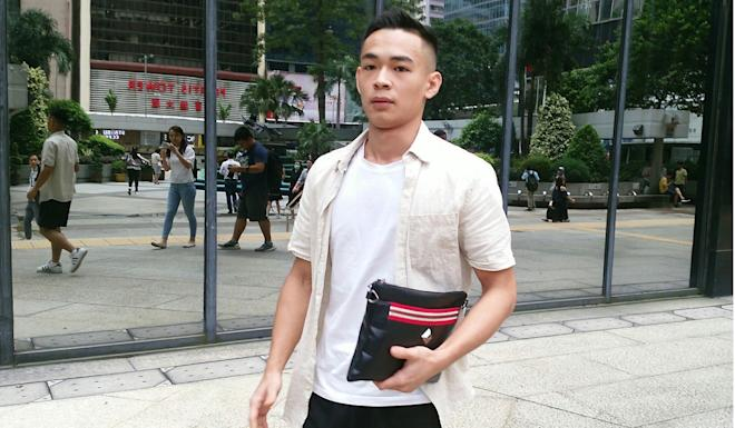 Li Man-yiu handed in the Rolex watch to police. Photo: Brian Wong