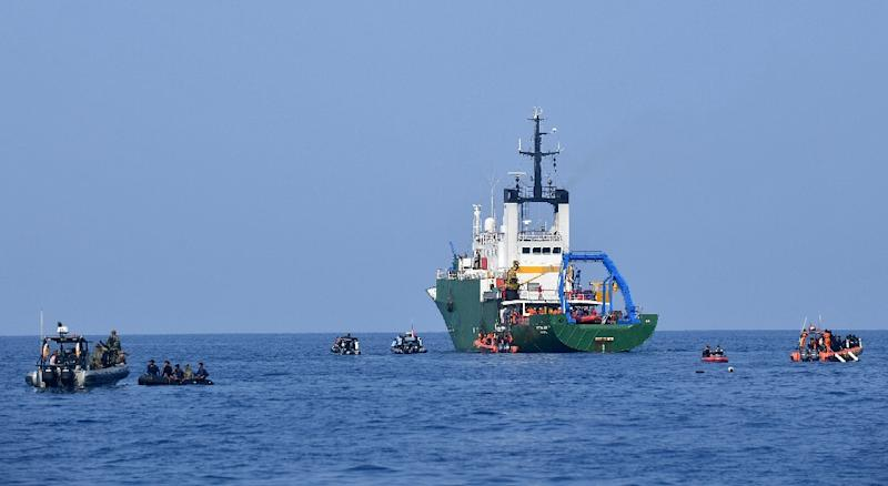 Indonesian search and rescue teams have been hunting for the black box from the doomed jet since the October crash
