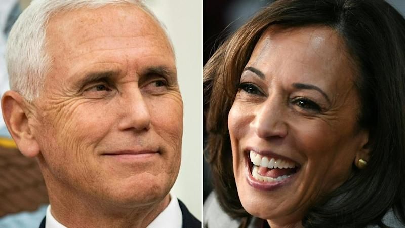 Live: Mike Pence and Kamala Harris face off in high-stakes vice-presidential debate