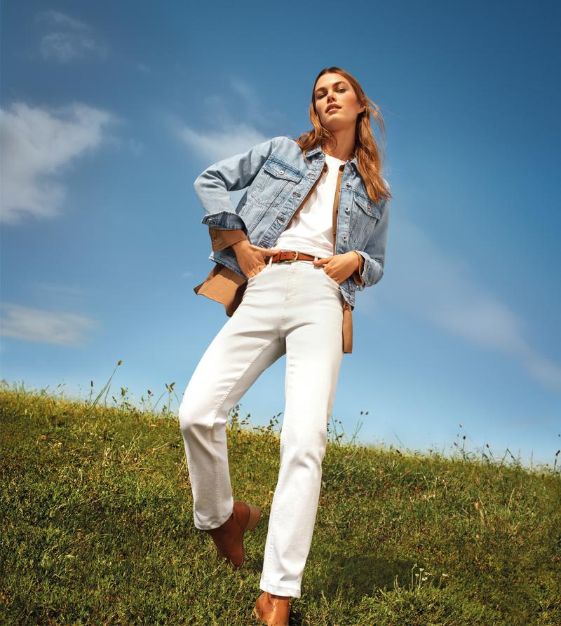 The Sienna Straight Leg Jeans offer customers a more relaxed fit. (M&S)