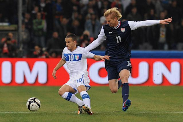 Italy and Parma midfielder Sebastian Giovinco. Height: 1.64m (Getty Images)