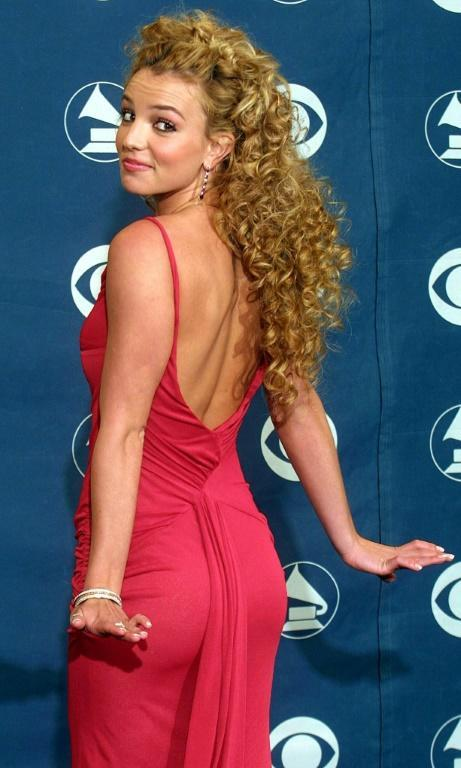 Britney Spears at the 44th Grammy Awards in February 2002