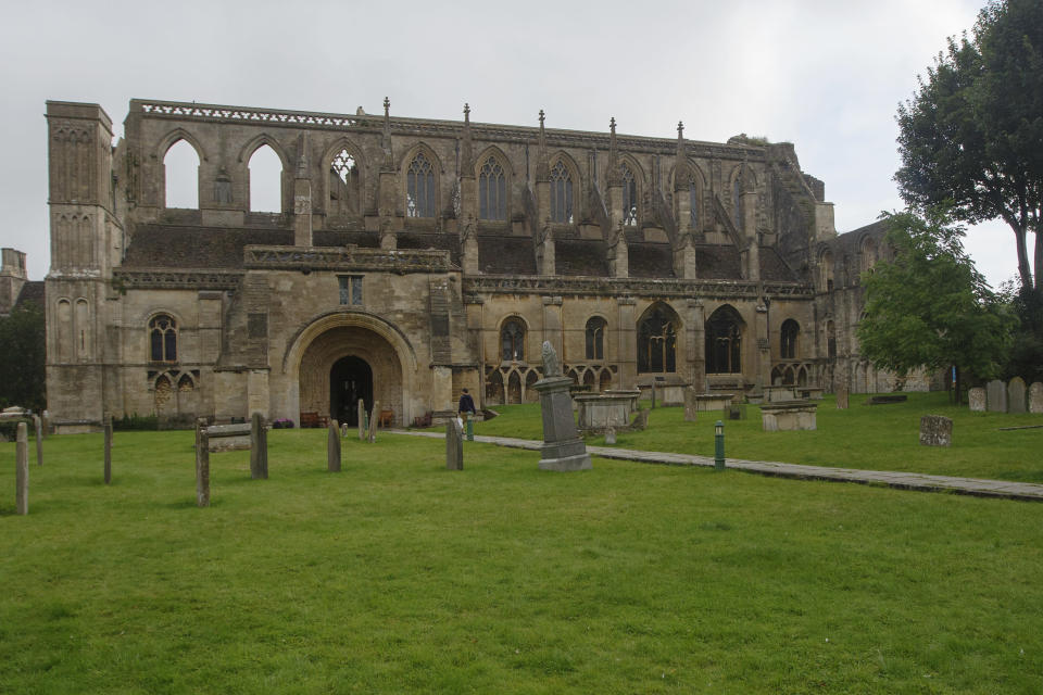 Malmesbury Abbey which is depicted in the JMW Turner painting (Luke MacGregor)