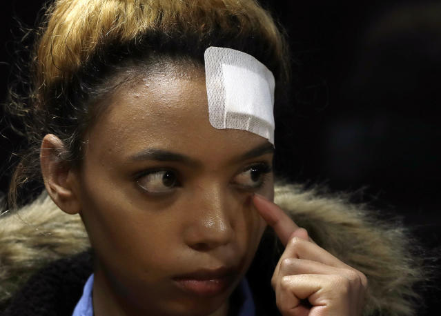 Lawyers for model Gabriella Engels say they will challenge any granting of immunity for Grace Mugabe in the courts (AP Photo/Themba Hadebe)