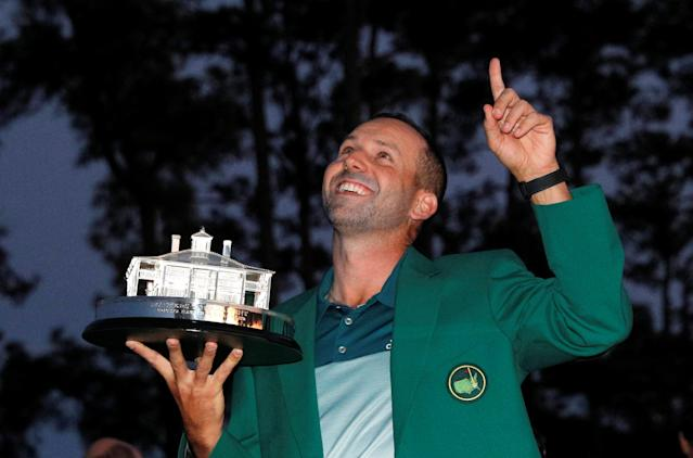The 73 Major Championships Sergio Garcia Didn't Win Before Masters 2017