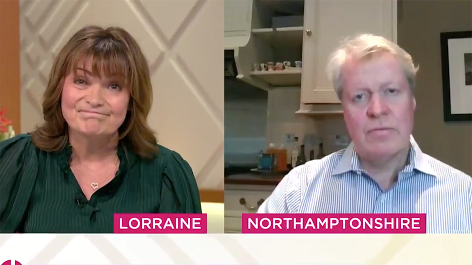 Lorraine Earl Spencer comments Meghan Markle Prince Harry miscarriage
