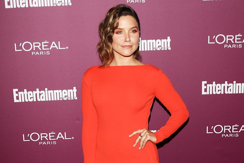 Sophia Bush, Sept. 15, 2017, in West Hollywood, Calif. (Photo: Michael Tran/Getty Images)