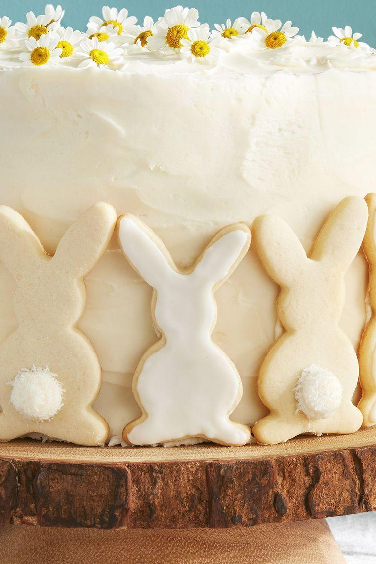 """<p>Is there anything cuter than a fluffy coconut bunny tail? The answer is no.</p><p><a class=""""link rapid-noclick-resp"""" href=""""https://www.amazon.com/Easter-Bunny-Cookie-Cutter-Plated/dp/B079Q5Y5KZ/?tag=syn-yahoo-20&ascsubtag=%5Bartid%7C10055.g.5078%5Bsrc%7Cyahoo-us"""" rel=""""nofollow noopener"""" target=""""_blank"""" data-ylk=""""slk:SHOP COOKIE CUTTERS"""">SHOP COOKIE CUTTERS</a></p><p><em><a href=""""https://www.countryliving.com/food-drinks/a19041992/bunny-sugar-cookies-recipe/"""" rel=""""nofollow noopener"""" target=""""_blank"""" data-ylk=""""slk:Get the recipe from Country Living »"""" class=""""link rapid-noclick-resp"""">Get the recipe from Country Living »</a></em> </p>"""
